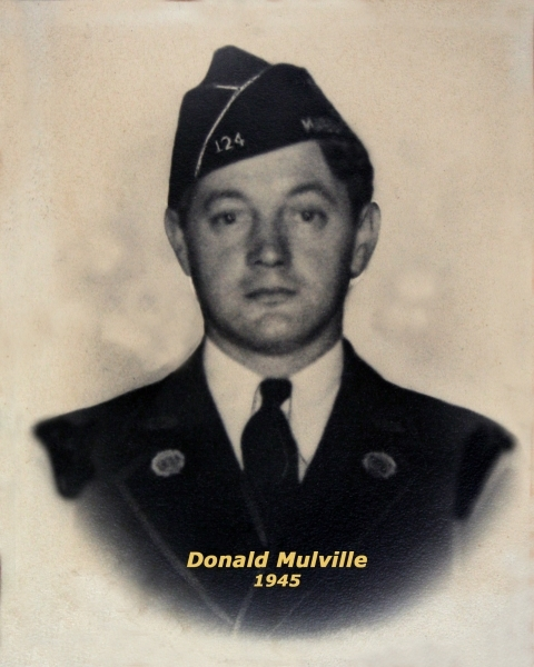 Post 124 Commander Donald Mulville Passes Away Four Hours After Being Installed as Post Commander