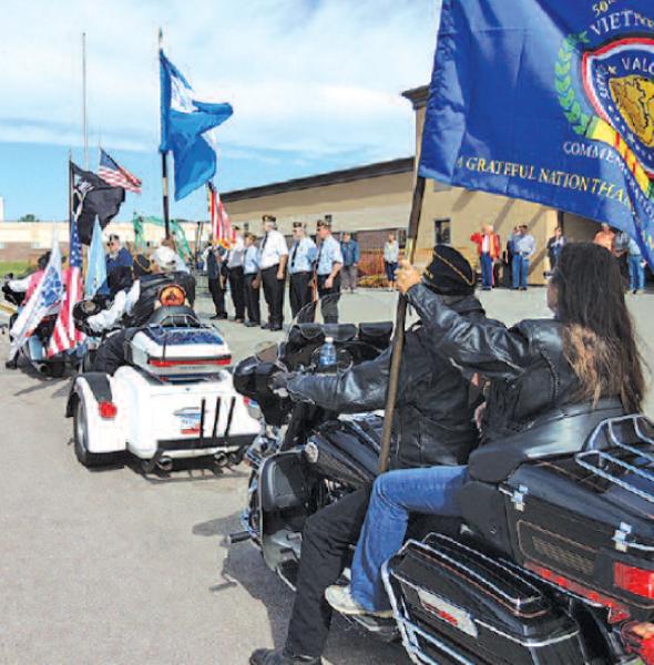 Local Vietnam Veterans Honored on Flag Day