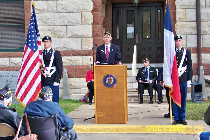 Turnbow-Higgs Post 240 92nd Veterans Day Event (2013)