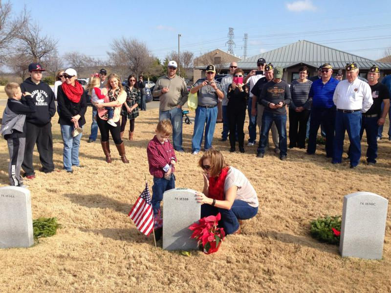 Wreaths Across America - DFW National Cemetery