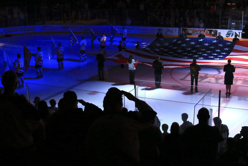 Military Appreciation Night with the Colorado Eagles