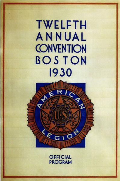 12th ANNUAL NATIONAL CONVENTION, BOSTON, MA