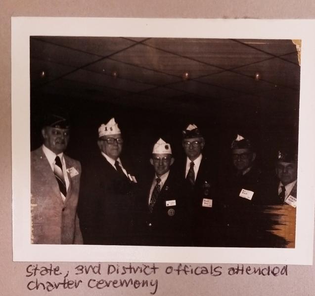 Woodbury American Legion Post 501 Established
