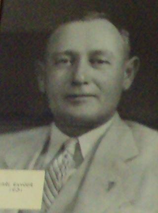 16th American Legion Post 129 Commander Carl Snyder 1931