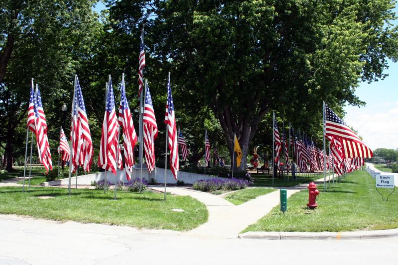 2017 Memorial Day Ceremony and The Avenue of Flags