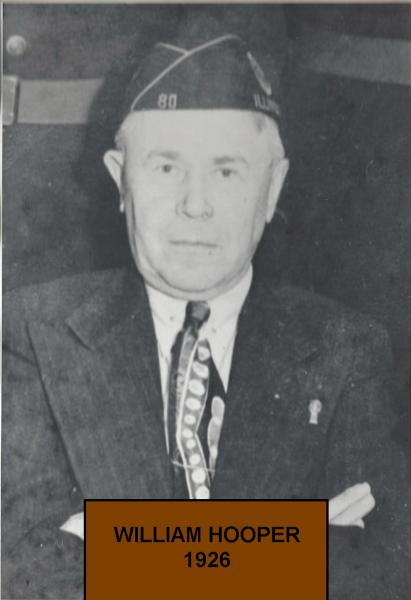 William Hooper Elected Commander for 1926