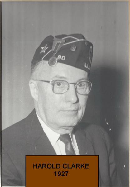 Harold Clark now commander