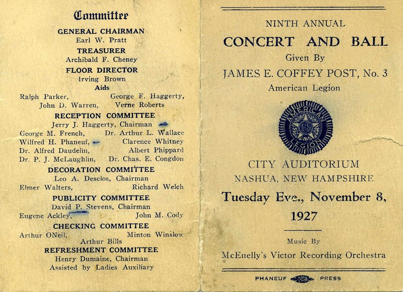Ninth Annual Concert and Ball