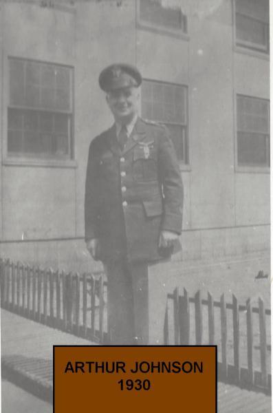 Arthur Johnson takes over in 1930