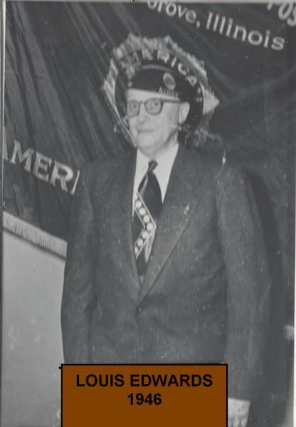 Lou Edwards takes command in 1946