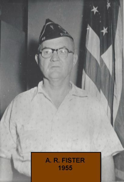 1955 Alvin Fister takes command.