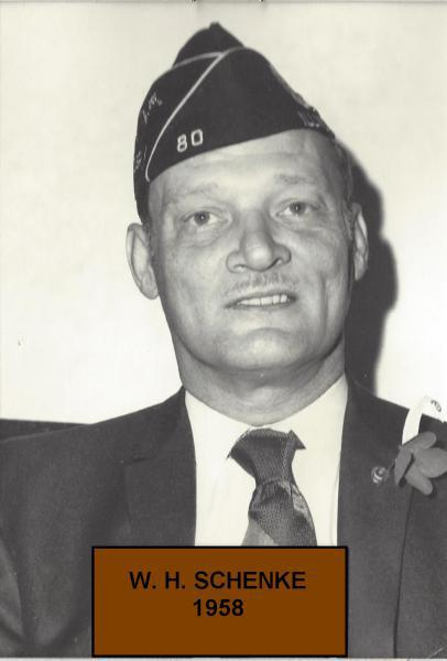 William H. Schenke takes command in 1958