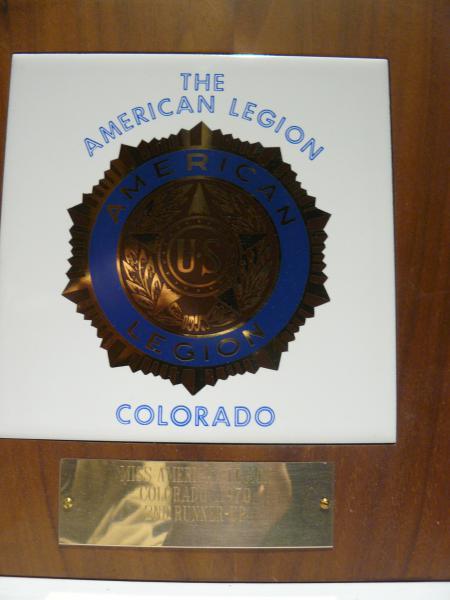 Miss American Legion Award ?