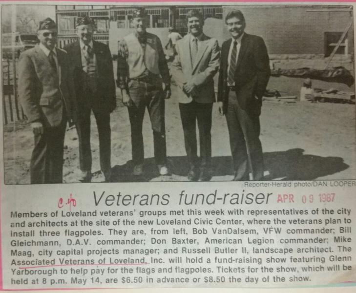 Vets fund raiser & working together