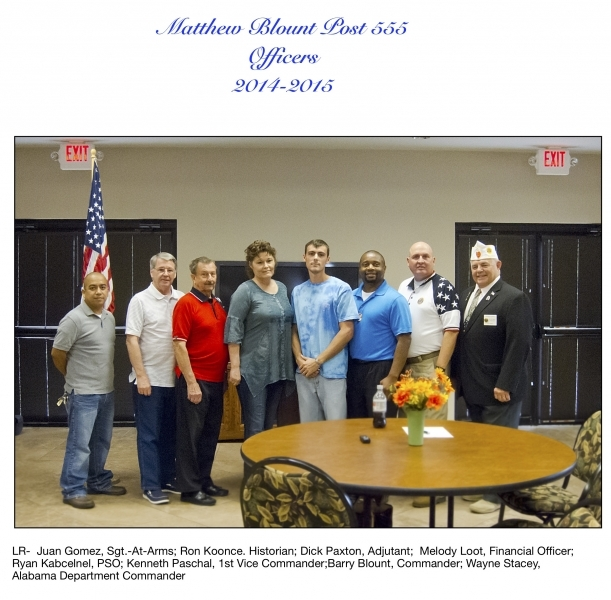 Matthew Blount Post 555 Becomes a Reality