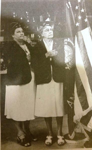 Mother & Daughter ... Commanders