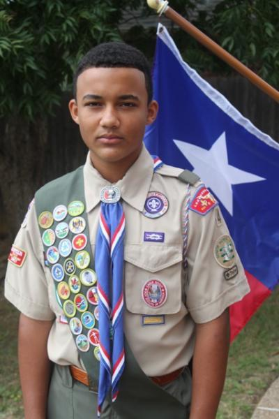 Joey Campbell Named the 2017 Department of Texas Eagle Scout of the Year