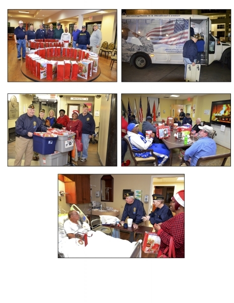 Annual VA Medical Center Christmas Caravan