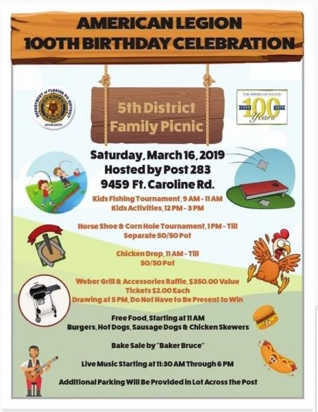 Florida 5th District Family Picnic