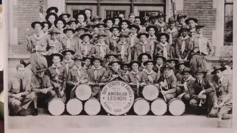American Legion Boy Scout Troop R.O.2, Drum and Bugle Corp.