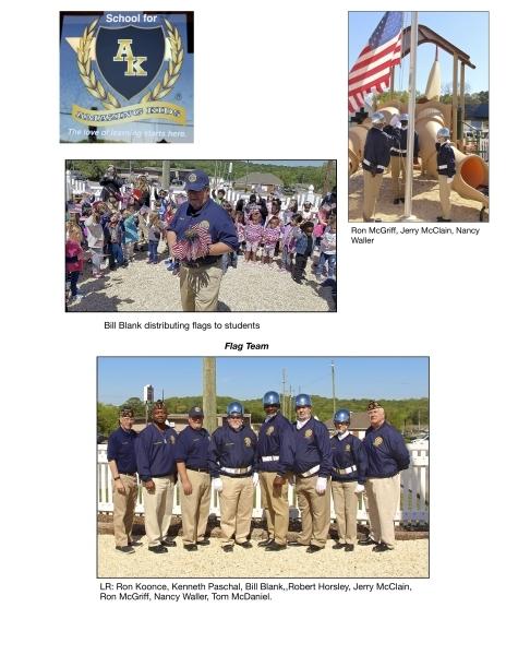Flag Replacement Ceremony - Amazing Kids School