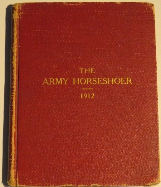 The Horseshoer becomes the Army Manual for WW1 Training