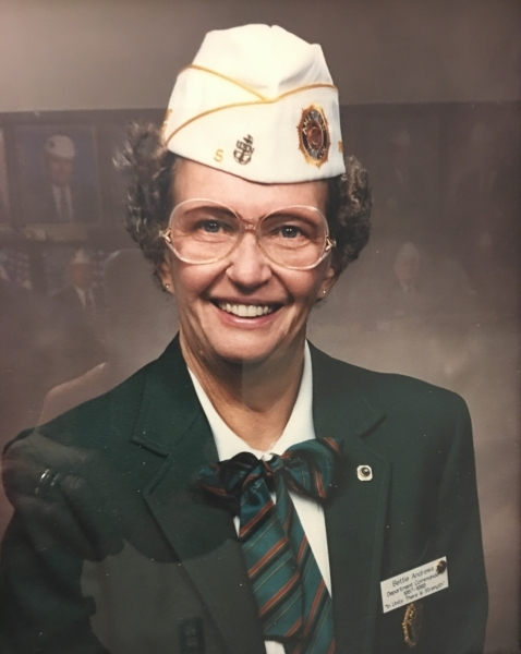 Betty Andrews elected as the first Female Commander for the Department of Iowa