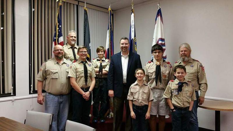 Post establishes initial sponsorship of Boy Scout Troop