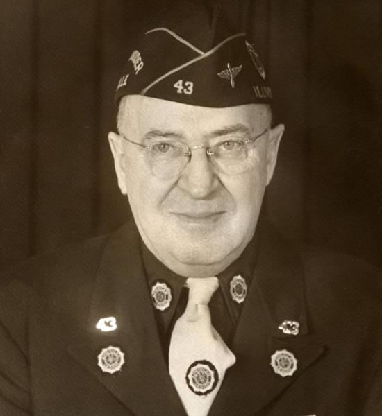 First Commander Naperville Post 43 - 1919