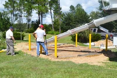 Veterans Memorial Site Progress