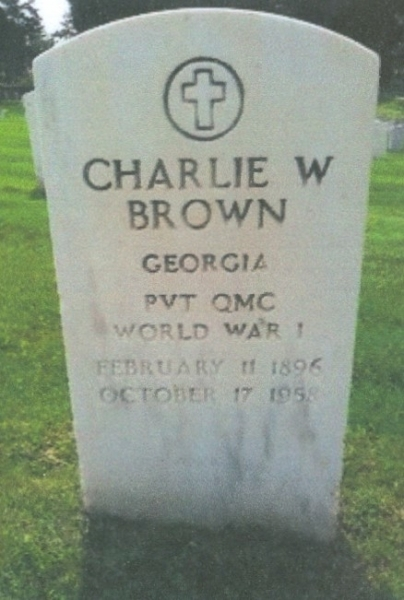 Charter Member Charlie W. Brown