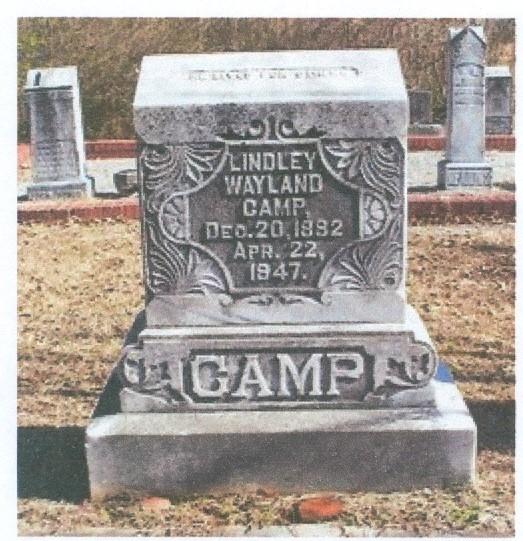 Charter Member Lindley Wayland Camp