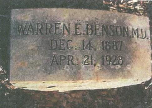 Charter Member Dr. Warren Edgar Benson