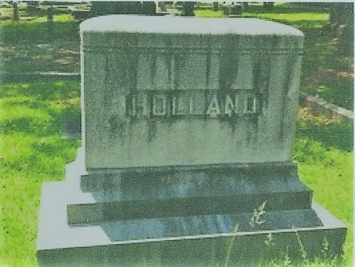 Charter Member William Tate Holland Sr.