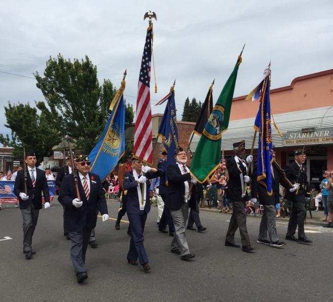 WW1 Centennial Parade Ridgefield WA