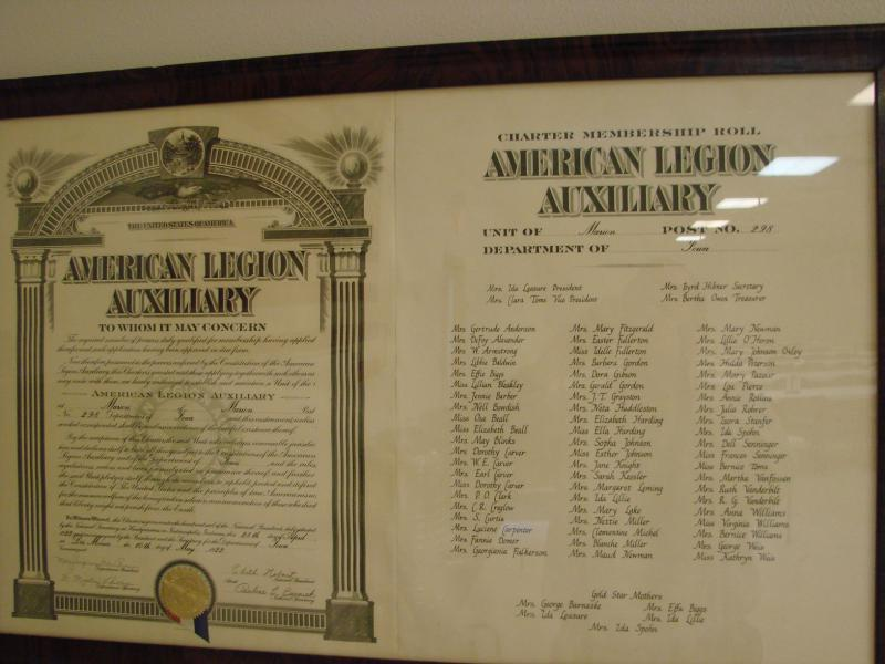 Auxiliary Unit Chartered
