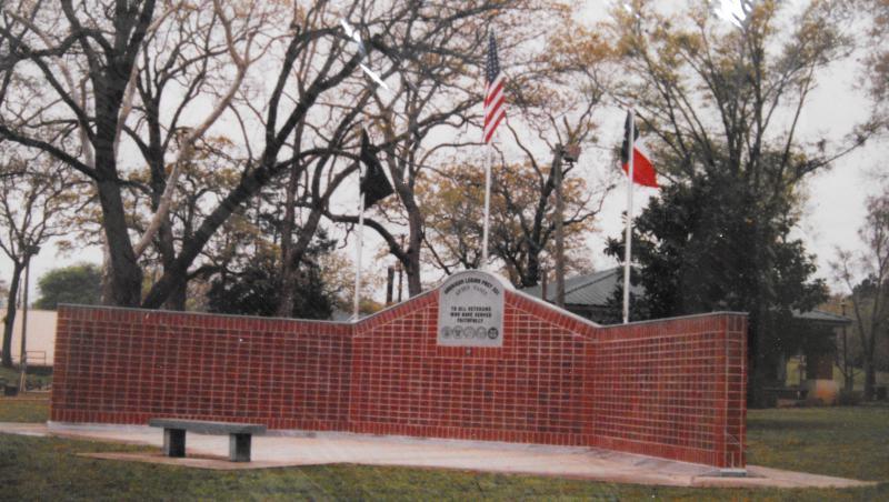 Veterans Monument Dedicated
