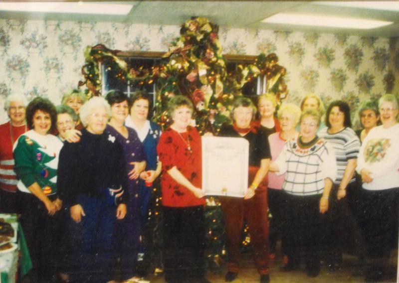 American Legion Post 351 Women's Auxiliary Gather