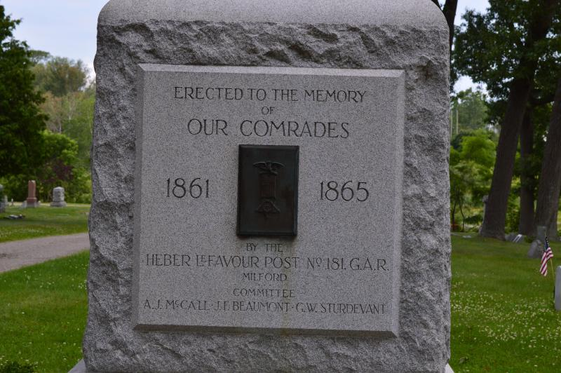 Permanent Civil War Veterans Memorial 1924