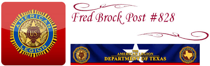 Fred Brock Post 828 Granter Permanent Charter