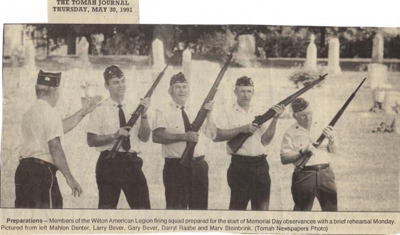 Wilton Legion Firing Squad