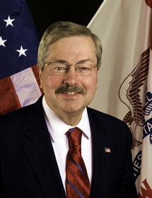 Iowa Gov. Terry Branstad, a 47-year member of The American Legion, and former Commander of Post 235 in Lake Mills, Iowa, is the new U.S. ambassador to China