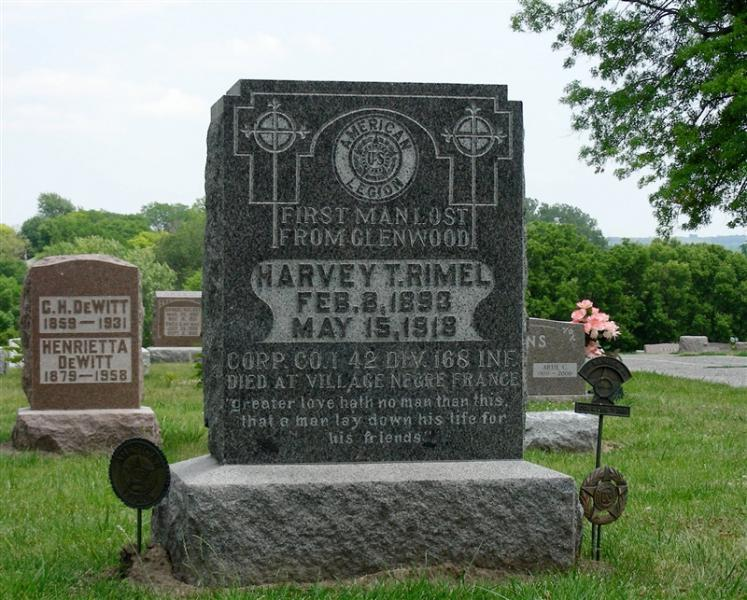 Harvey T. Rimel is Killed in Action