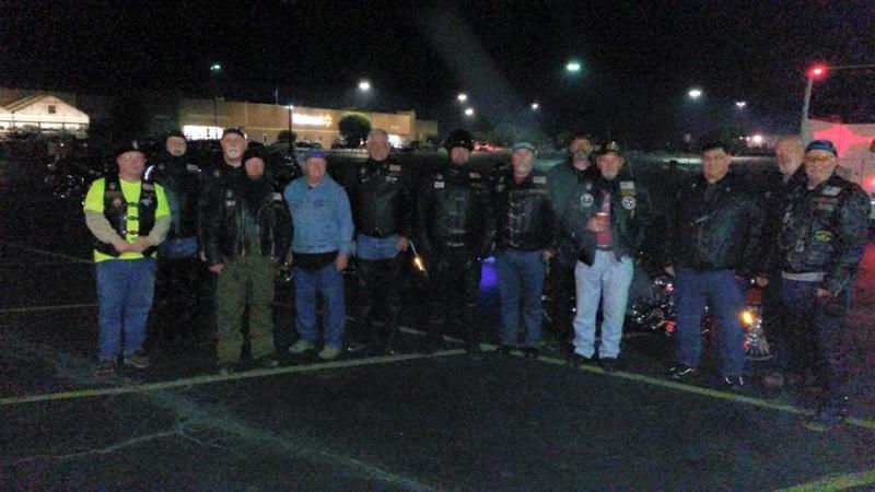 Legion Riders Escort Honor Flight of Middle Tennessee
