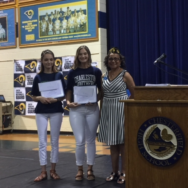 2019 May 29 American Legion Presents Scholarships At