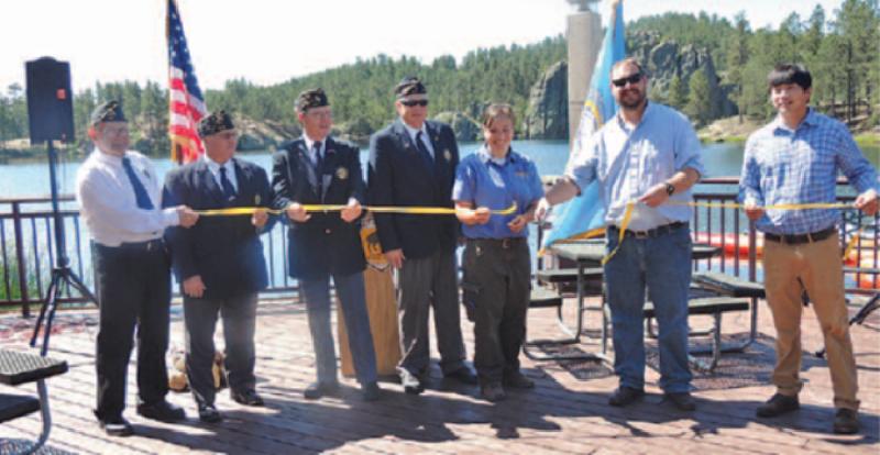 Legion Lake Lodge Opening