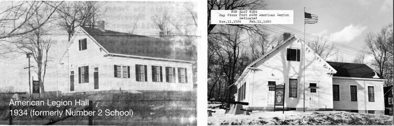 Legion Hall Photos from 1934 and 1950