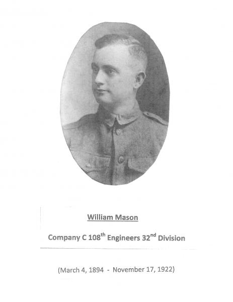 Namesake - William Mason Obituary