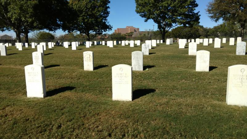 Legion Cemetery near Kerrville Dedicated
