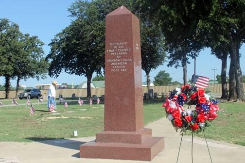 West Memorial Cemetery Veterans Field of Honor Dedication